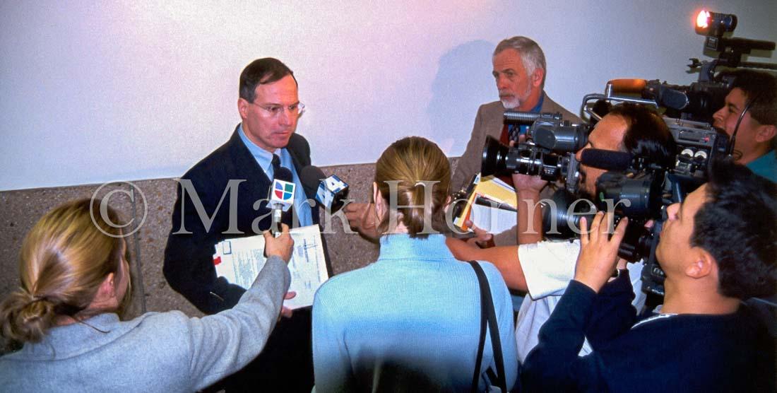 Prosecutor Paul Spiers and media