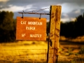 Cat Mountain Ranch sign