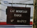 Cat Mountain Ranch Sign and Police Mobile Community Substation 062400