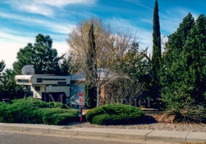 Bill Miller home on Candlelight Drive NE in Albuquerque, New Mexico, on November 22, 1999.